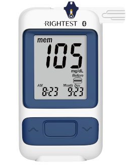 Rightest GM280 Blood Glucose Meter by Bionime USA