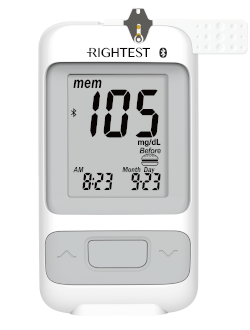 Rightest GM700SB Blood Glucose Meter by Bionime USA