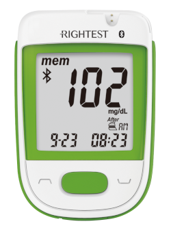 Rightest GT333 Blood Glucose Meter by Bionime USA