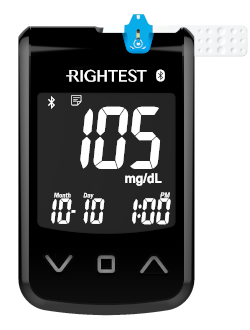 Rightest Max Plus Blood Glucose Meter by Bionime USA