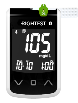Rightest Wiz Plus Blood Glucose Meter by Bionime USA